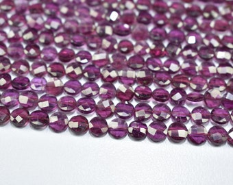 50/% OFF Natural Amethyst Beads Heishi Beads Gemstone Smooth Discs Size 5.5 to 8 mm 16 Strand-New Arrival-Wholesale Price