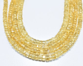 AAA Quality Beautiful Natural Citrine smooth pear beads 5-7 mm 15 inch superb quality 1 strand