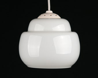 Ceiling Lamp Frosted Glass Vintage Opal Glass Lamp Retro Lamp Lamp