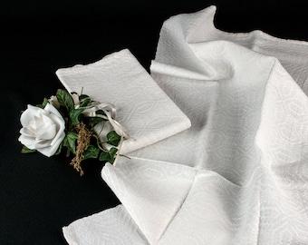2 Weiße Leinenhandtücher, Handgewebtes Bauernleinen, Retro Schmuck Für Die  Landhausküche, Historisch, Vintage, AltrosaVintage