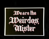 We are the Weirdos, Mister, Tattoo Inspired, pastel goth, tattoo inpsired, spooky sweet