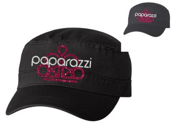 Paparazzi Glitter Hat   Bling Queen Baseball Hat Swag   Military Style  Cargo Ball Cap Jewelry Consultant   Adjustable Fabulous Relaxed Fit 0dce129576f8