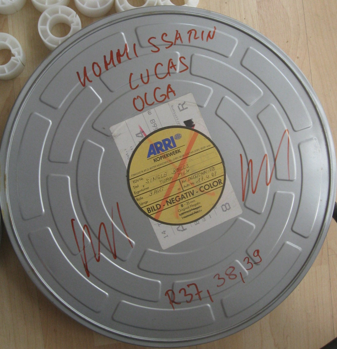 Old Movie Can Film Can Loft Industrie Shabby Style Alte Orig Etsy