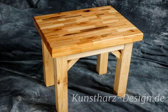 Details zu Epoxidharz Tisch aus Lärchenholz Epoxy Esstisch oder als exklusive Tafel