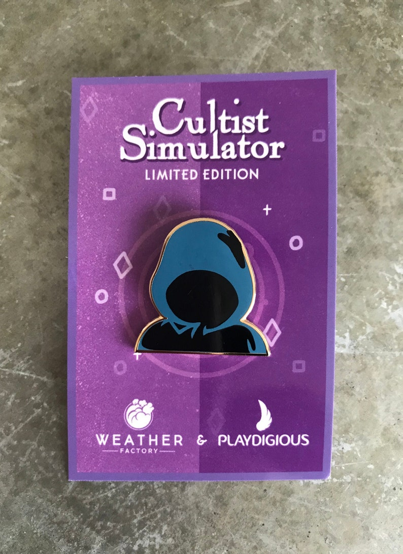 Cultist pin LIMITED EDITION image 0
