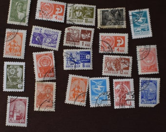 Russian stamps | Etsy