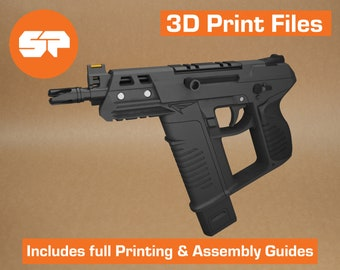 Valorant Frenzy 3D Model - STL file for 3d Printing - Replica Prop for Cosplay - 3d Printable Valorant gun
