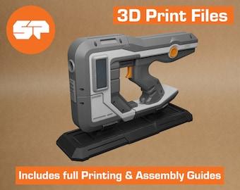 Borderlands Tediore Pistol 3D Model - STL file for 3D Printing - 3D printable Borderlands 3 Prop - Borderlands Replica Weapon for Cosplay