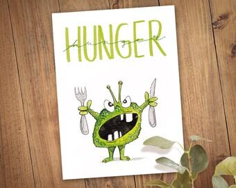 Postcard Hunger