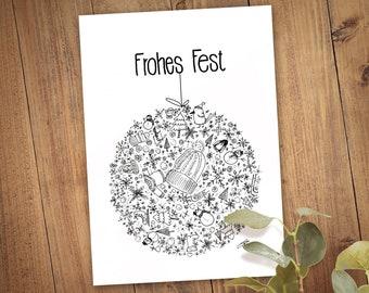 Happy Feast Folding Card