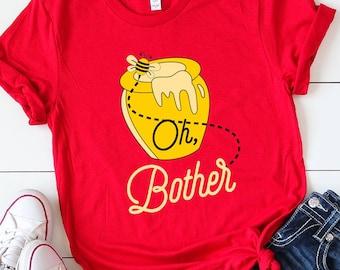 ae7a175a Winnie The Pooh Shirt, UNISEX SHIRT, Disney Shirt, Cute Disney Shirt,  Disney Character Shirt, Disneyland Shirt, Pooh Shirt, Oh Bother Shirt