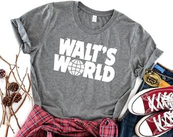 11ea3d5ef4 Walt's World UNISEX SHIRT, Disney Shirt, Funny Disney Shirt, Disney Rock  And Roll Shirt, Adult Disney Shirt, Cute Disney, Walt Disney Shirt