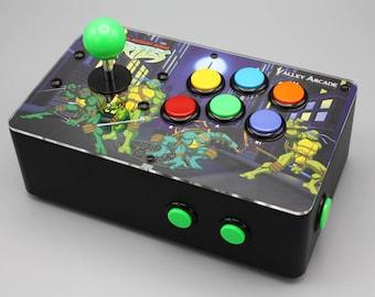 Venture Retrocade II - home arcade console with genuine Sanwa controls (Teenage Mutant Ninja Turtles theme)