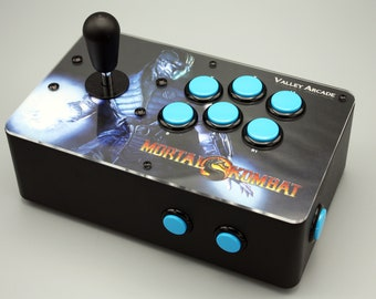 Venture Retrocade II - home arcade console with genuine Sanwa controls (MK Sub-Zero theme)