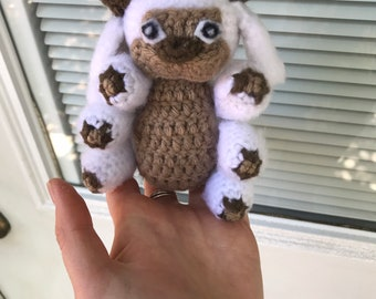 Crochet Appa pattern (free) | Avatar: The Last Airbender | 270x340