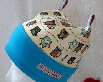 Beanie baby hat children's hat CLEMENS