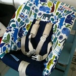 Baby Shell cover for high chair Henrik IV
