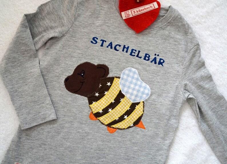 Stachelbär Shirt The Original Etsy