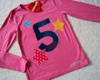 Birthday Shirt MULTIPLE STAR II