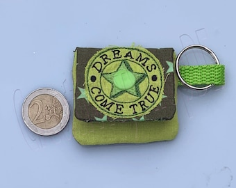 Minitasche_Grüne Sterne