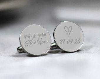 Groom,Groomsme Engraved Wedding Cufflinks,Fleur de lis cufflinks,Mens wedding accessories,\u00a0Gifts for Men,Art
