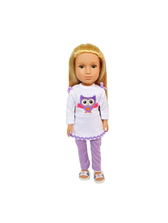 My Brittany/'s Valentines Outfit Fits Wellie Wishers 14 Inch Doll Clothes