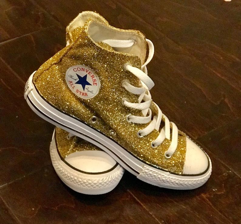 6e225fe5ea124b Custom Glitter Converse Allstar