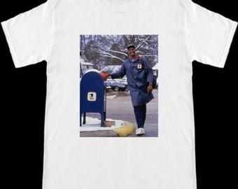 Utah Jazz Karl Malone The Mailman Delivering T-Shirt 0796fb396