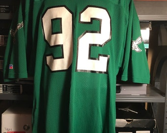 best loved 1f2a8 e301e Green eagles jersey   Etsy