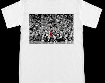 c4ed2cb7d5ef The Last Shot Chicago Bulls Michael Jordan T-Shirt