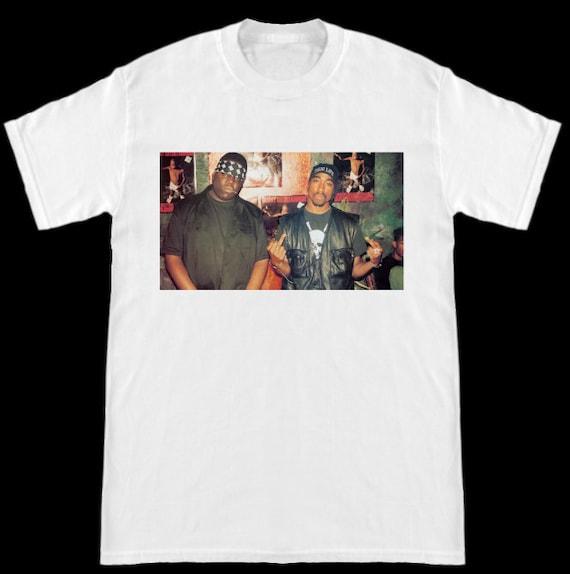 Notorious Big Biggie 2pac Tupac Middle Finger Rap Hip Hop Etsy