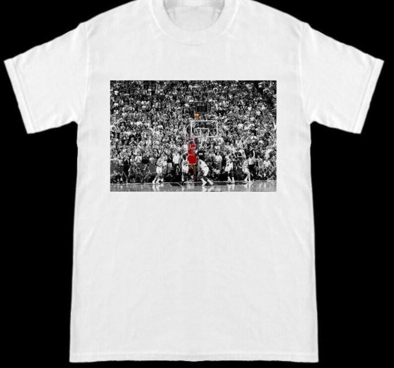 9d2cc61bf252 The Last Shot Chicago Bulls Michael Jordan T-Shirt