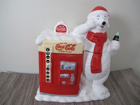 Coca-Cola Holidays are Coming Polar Bear Cheers Womens Hooded Sweatshirt