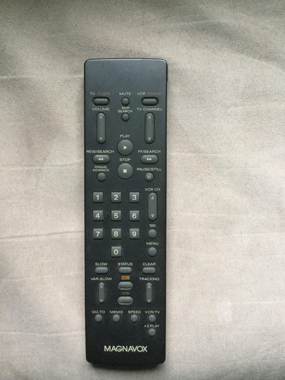 Remote for Magnavox VCR VR3440