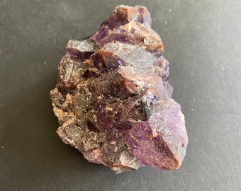 Purple Crystal Power Bohemian Natural Specimen Terminated Super Seven Amethyst Crystal Point Metaphysical Crystals Witch