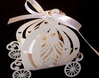 Favor Boxes - Quick Ship - Cinderella Pumpkin Carriage 01983062f