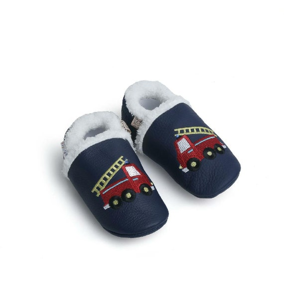 d2034bd0056a00 Liya s winter slippers leather slippers 383 Fire Brigade