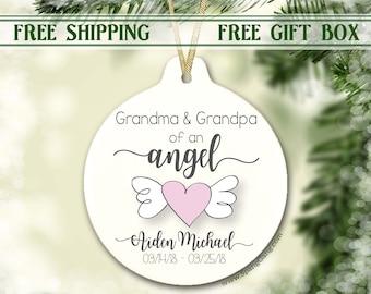 Sympathy for Grandma or Grandpa   Grandbaby Memorial   Grandma of an Angel   Baby Memorial   Miscarriage Keepsake   Grandbaby Sympathy Loss