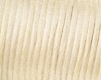 Satinband Rosa 5M KUMIHIMO Ø 1,5 mm Satin Flechtkordel