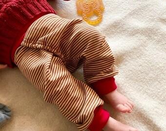 Splitpants made of wool silk organic