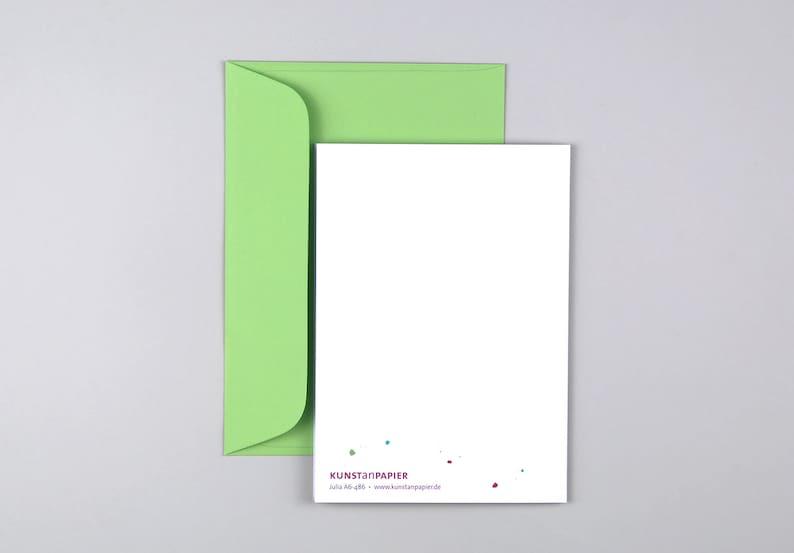 Envelope Greeting Card Wedding Card Confetti Green Congratulations Kiss Lettering Julia Kiss  Folding Card Saying Emerald Wedding Pink