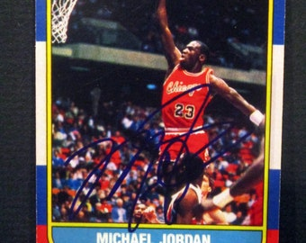 Michael Jordan Card Etsy