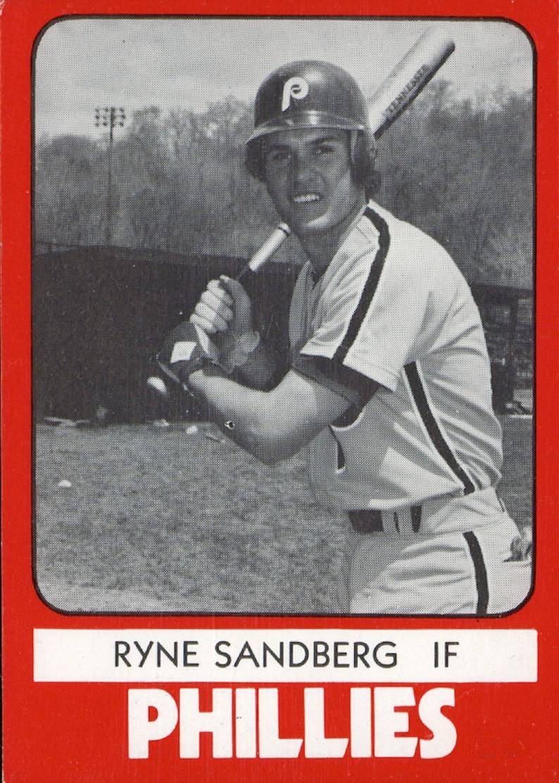 Ryne Sandberg 1981 Tcma Reprint Baseball Card