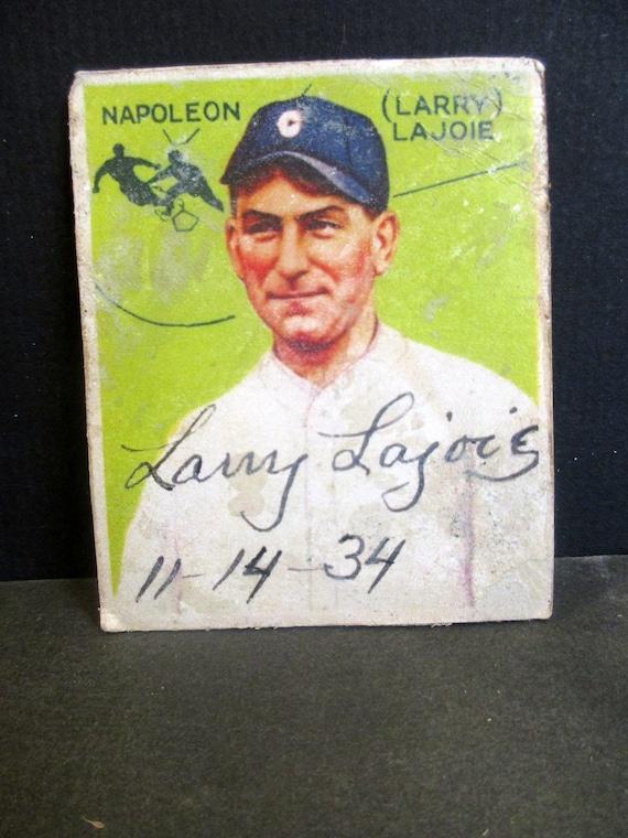 Napoleon Lajoie Reprint 1933 Goudey Baseball Card