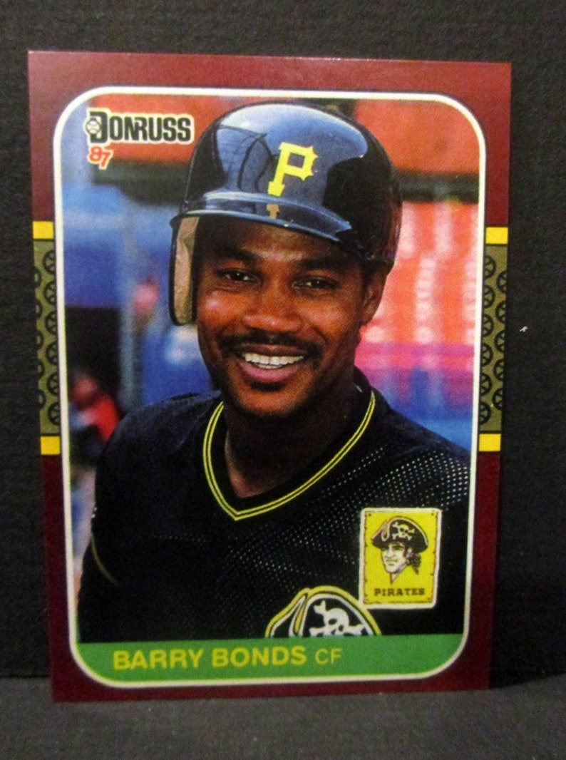 1987 Donruss Opening Day Barry Bondsjohnny Ray Errror Reprint Baseball Card