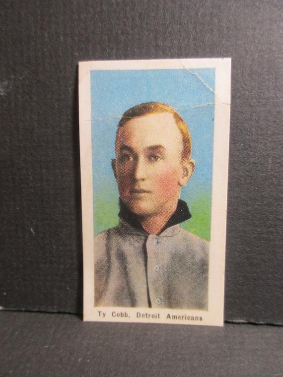 Highest Quality Ty Cobb E135 Reprint Baseball Card
