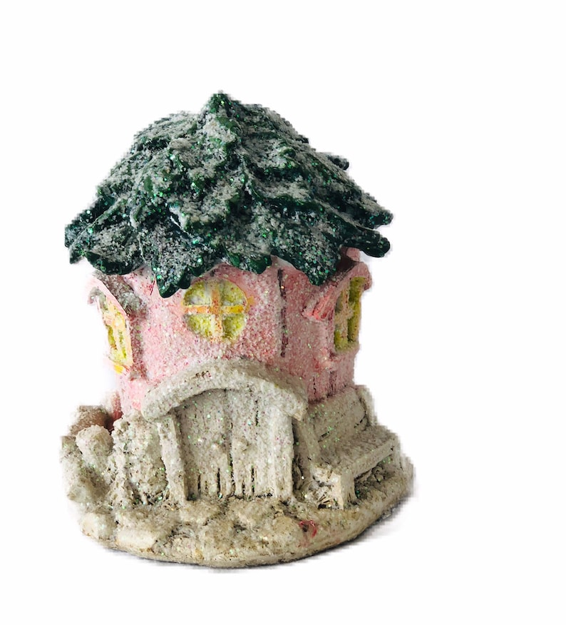 Miniature Solar Fairy House, Miniature Gardening Decor, Miniature Gnome  House, Fairy Garden house, DIY Fairy Gardens, Miniature Cottage