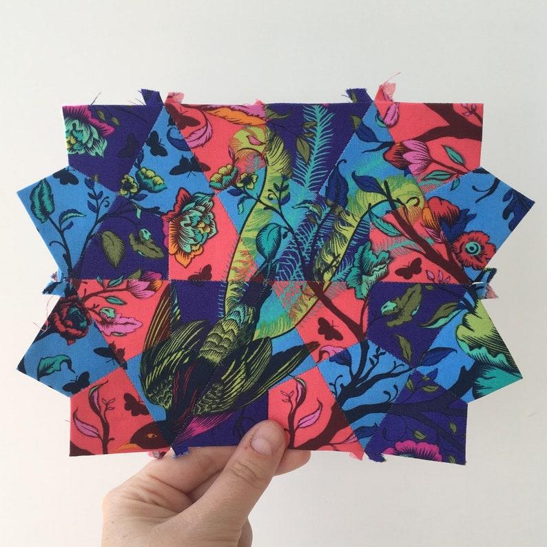 Kaleidoscope Pattern Match. An EPP technique pattern. PAPER image 0