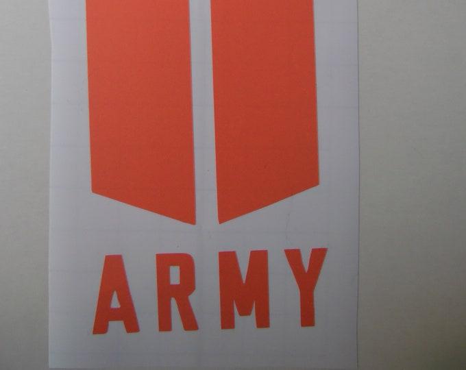 BTS ARMY Shield Decal