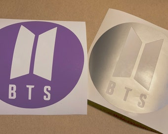 Bts Logo Decal Etsy